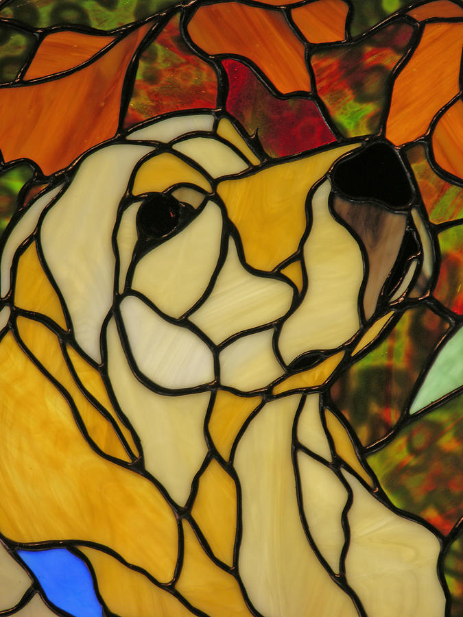 Stained Glass Photograph - Sunshine by Ladonna Idell