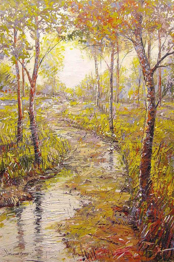Buy Original Painting - Sunshine by Maxim Grunin