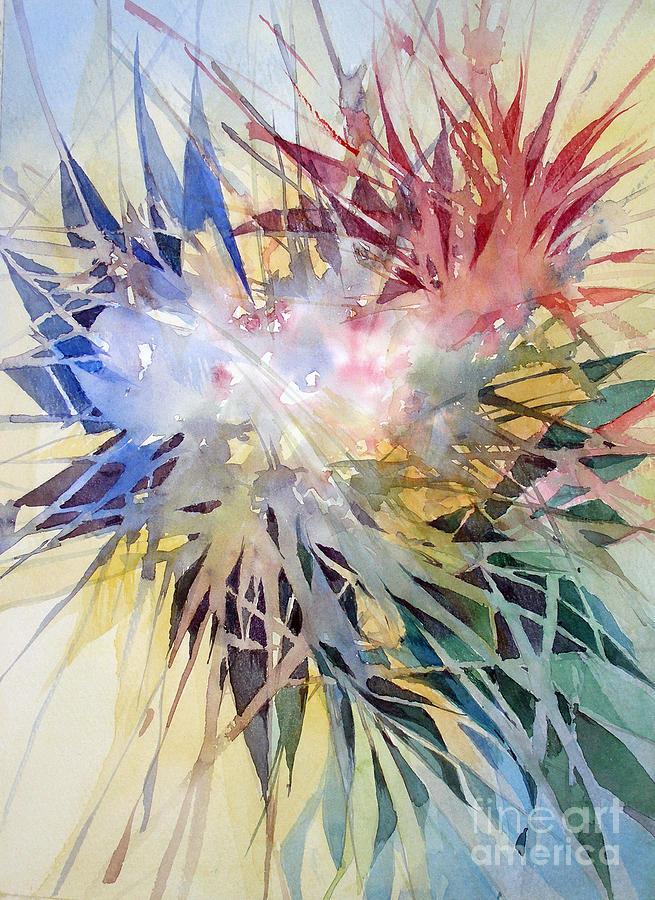 Color Painting - Sunshine by Natalia Eremeyeva Duarte