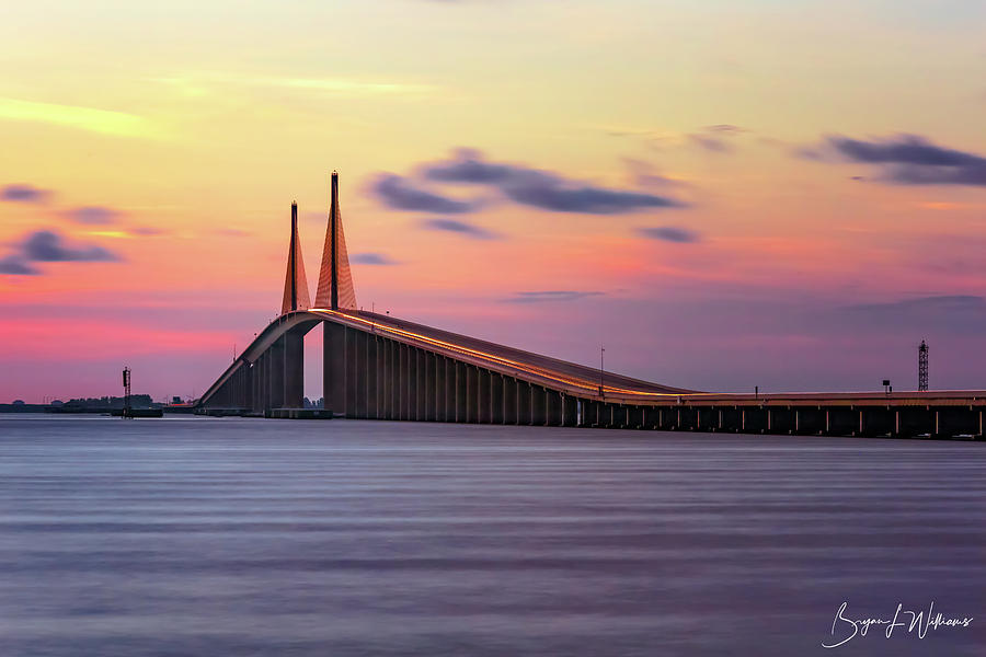 Sunshine Skyway by Bryan Lee Williams