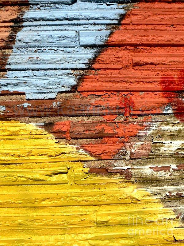 Rainbow Photograph - Sunshine Wall  by Kaarin  Keil