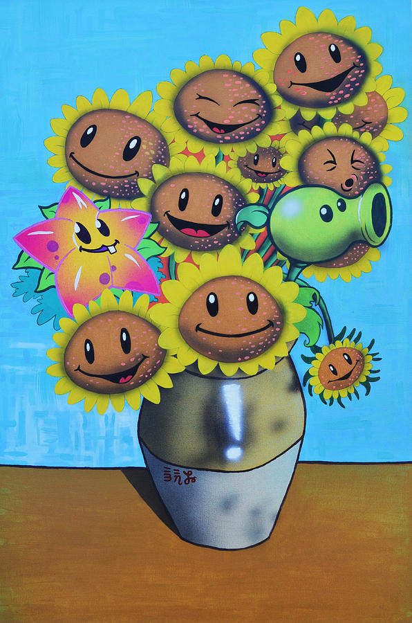 Video Games Painting - Sunshiney Day by Ebenlo - Painter Of Song