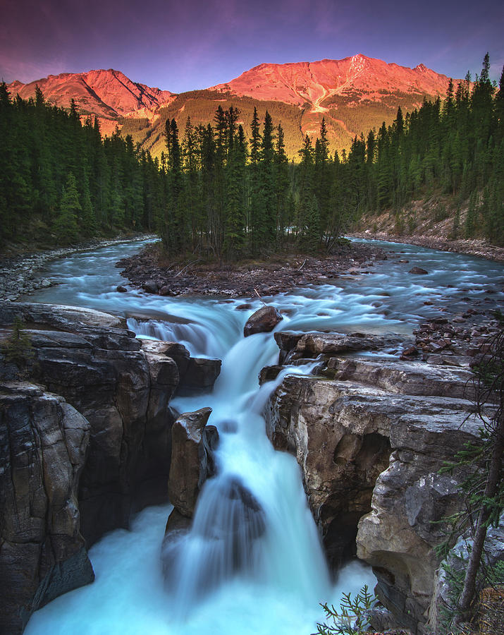 Sunwapta Falls by Cale Best