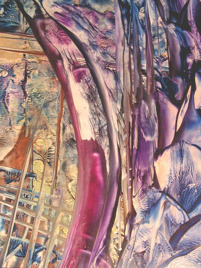 Abstract Painting - Sunward by John Vandebrooke