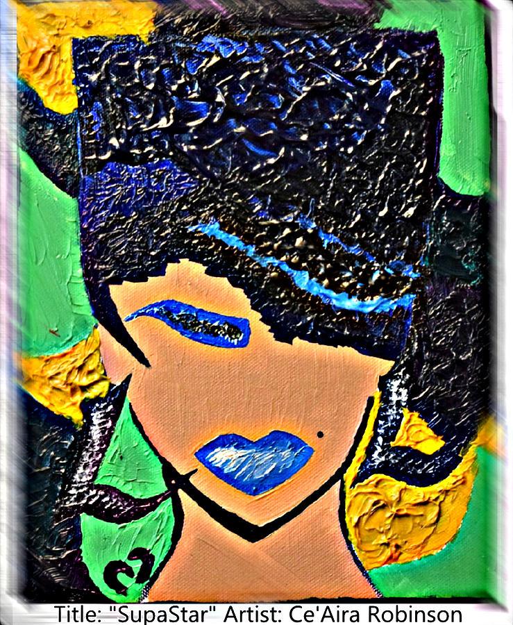 Dance Painting - Supastar by Ceaira Robinson