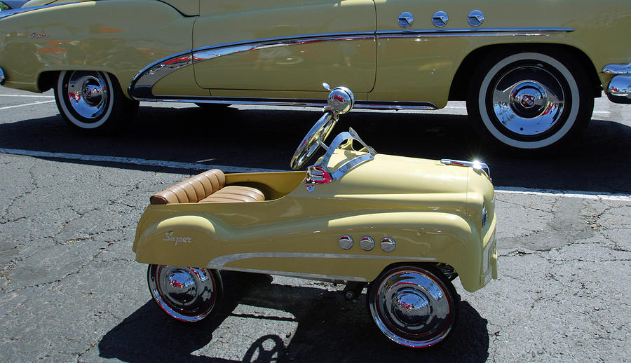 Car Photograph - Super Buick Toy Car by Jill Reger