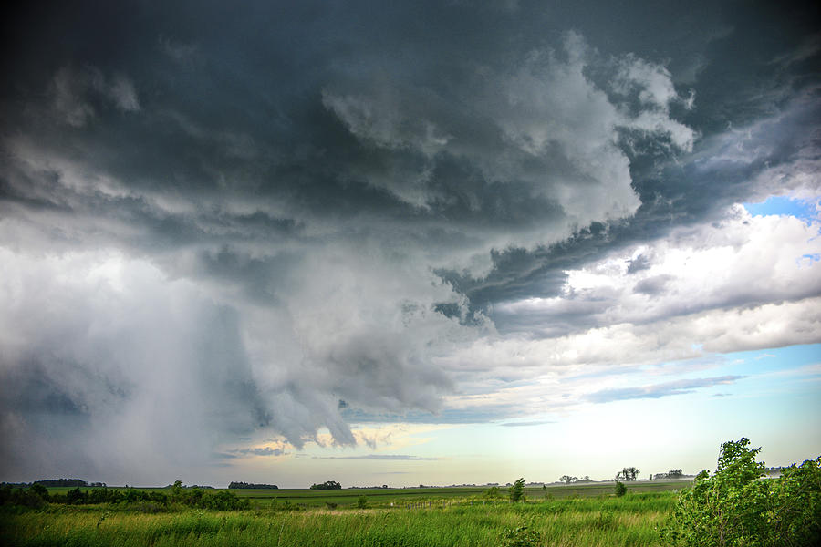 Super Cell Over Otter Tail County by Alex Blondeau