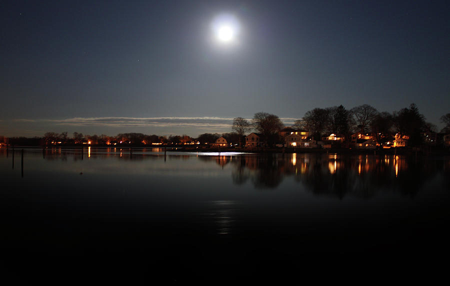 Connecticut Photograph - Super Moon  by Mark Ashkenazi