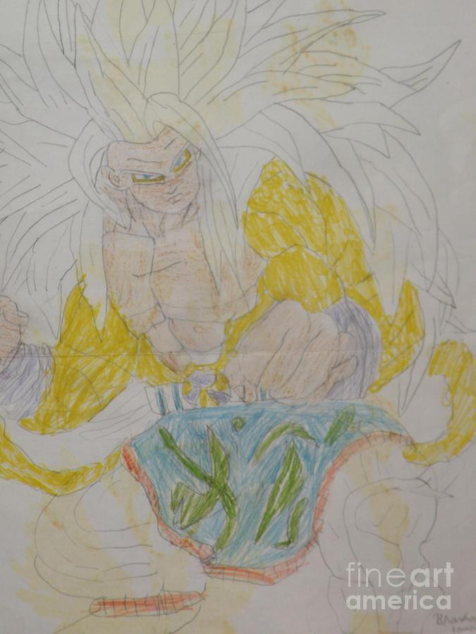 Super Saiyan 5 Goku