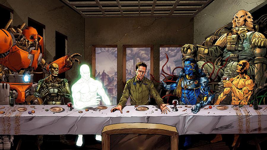 Supergod Last Supper-312 by Jovemini ART