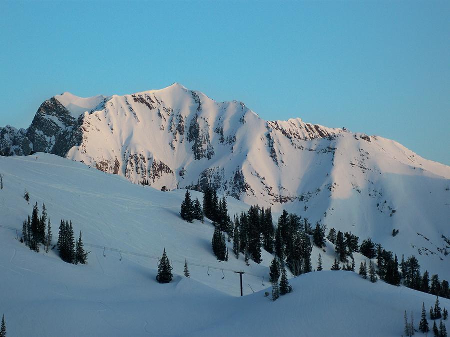 Ski Photograph - Superior Sunrise by Michael Cuozzo