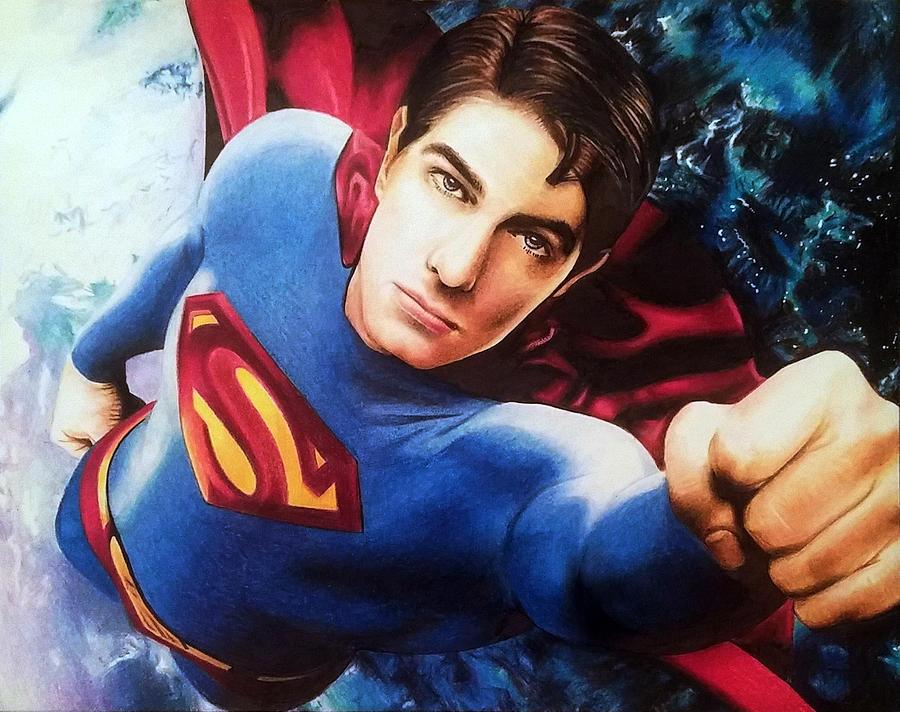 brandon routh superman - 900×712