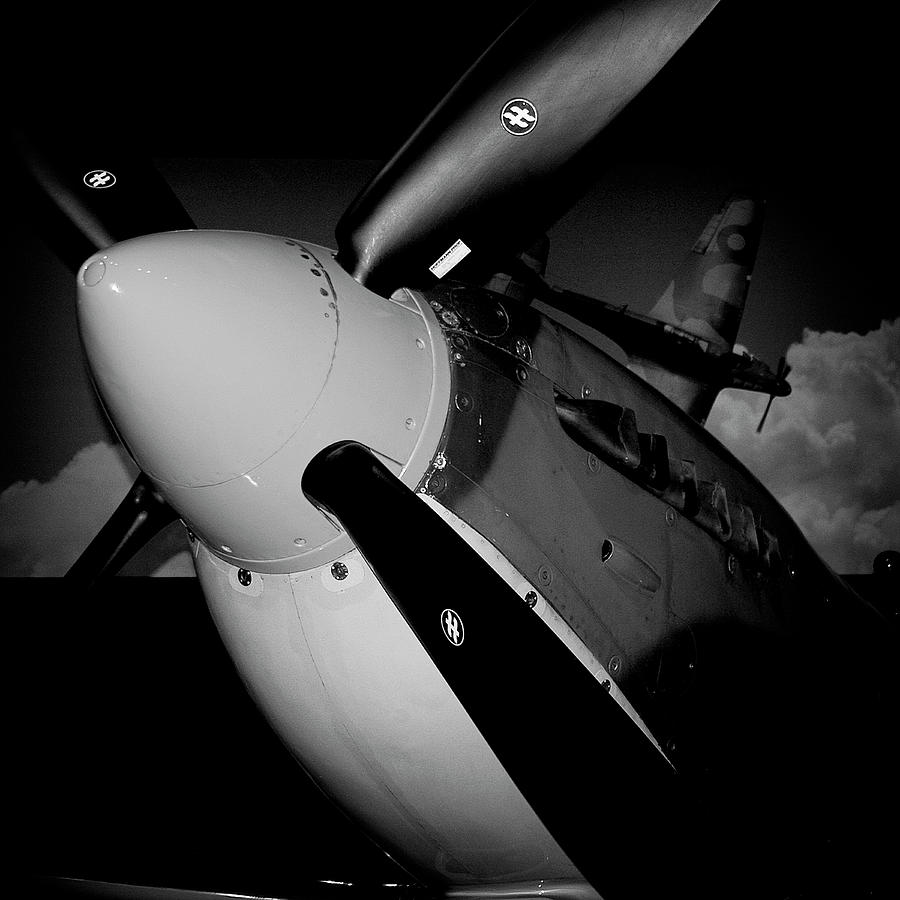 Spitfire Photograph - Supermarine Spitfire Mk.ix by David Patterson