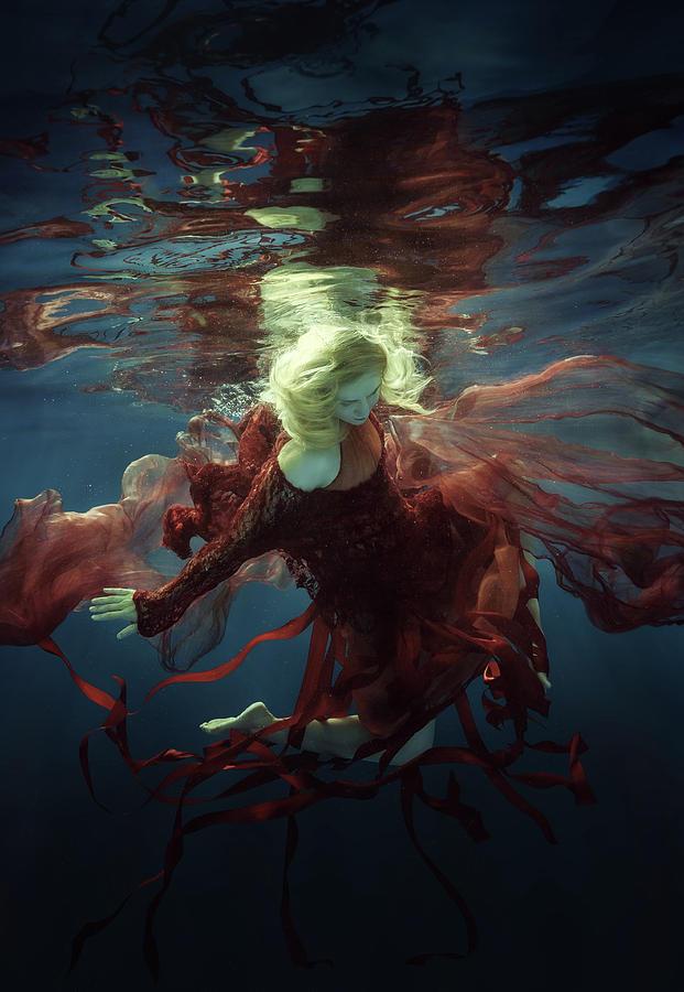 Girl Photograph - Supernova by Dmitry Laudin