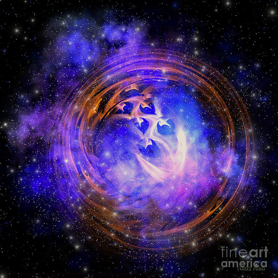 Supernova Remnant Painting