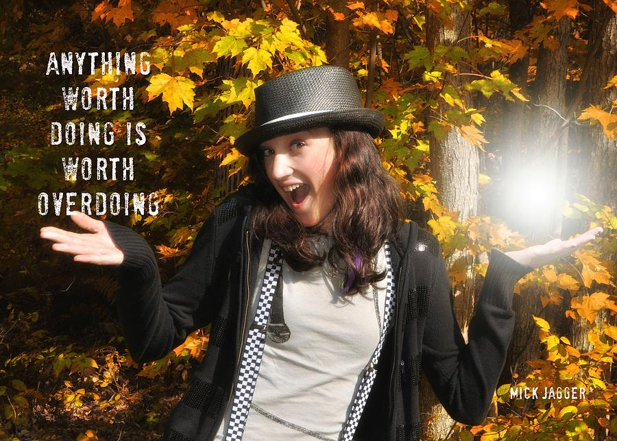 Model Photograph - Superstar Quote by JAMART Photography