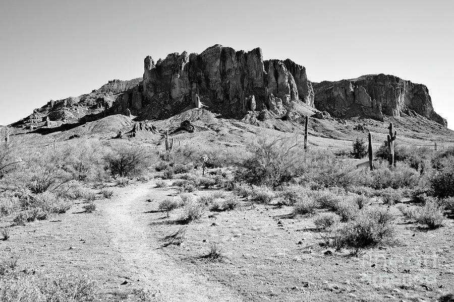 Superstition Mountain Photograph - Superstition Mountain by James Jones