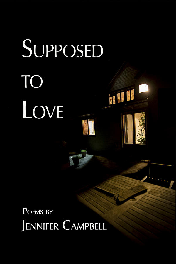 Jennifer Campbell Photograph - Supposed To Love Book Cover by Don Mitchell