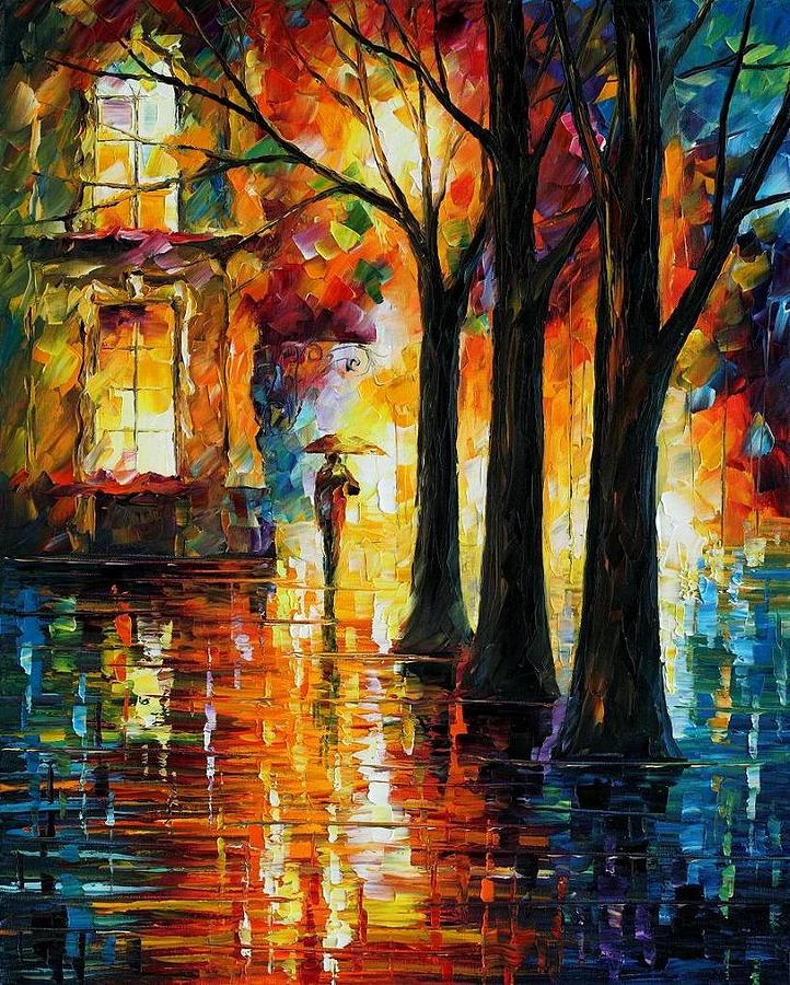 Afremov Painting - Suppressed Memories by Leonid Afremov
