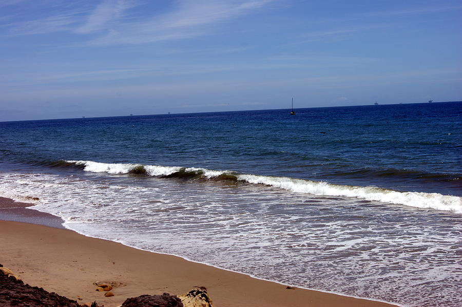 Surf And Sand Photograph