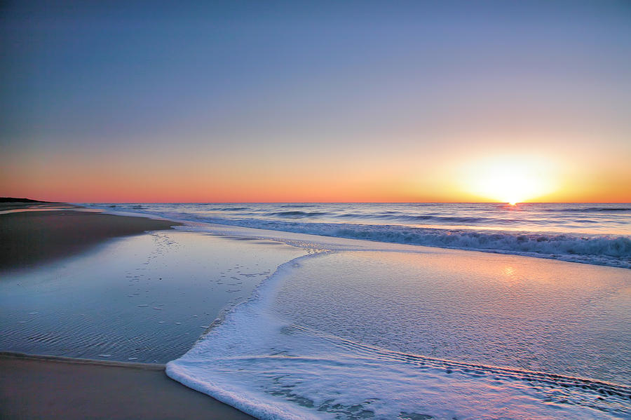 Beach Photograph - Surf And Sand IIi by Steven Ainsworth