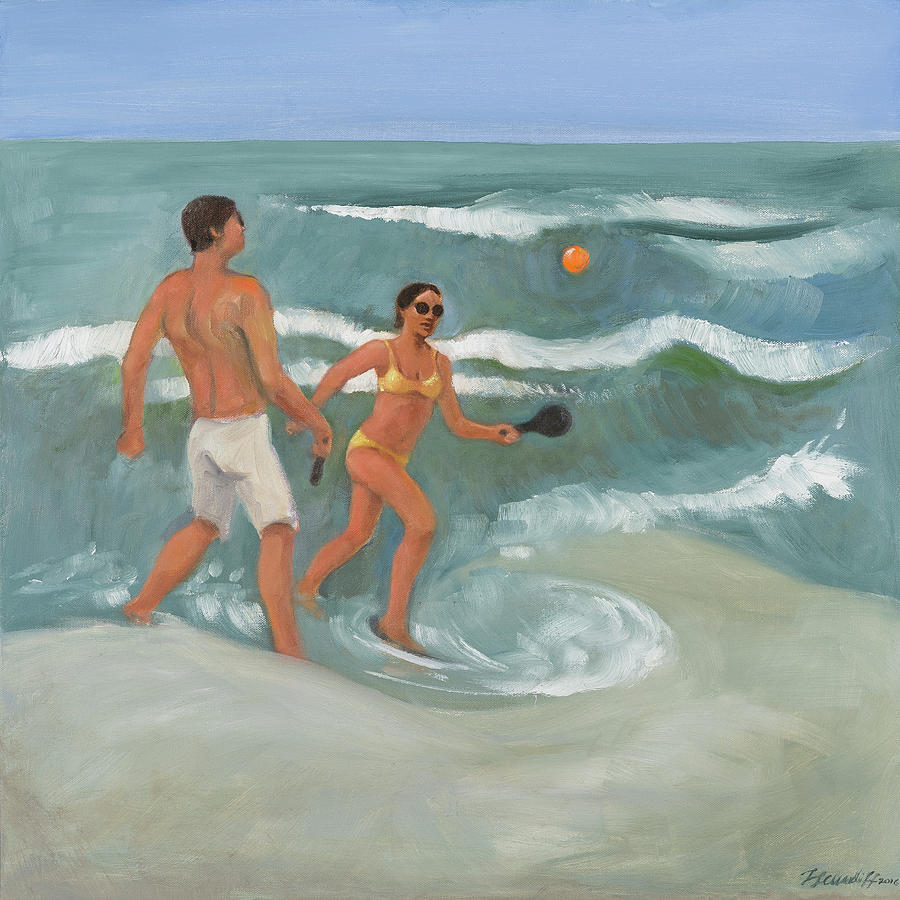 Surf Ball by Laura Lee Cundiff