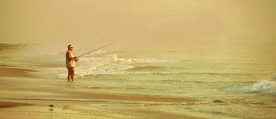 Breaking Photograph - Surf Casting by JAMART Photography
