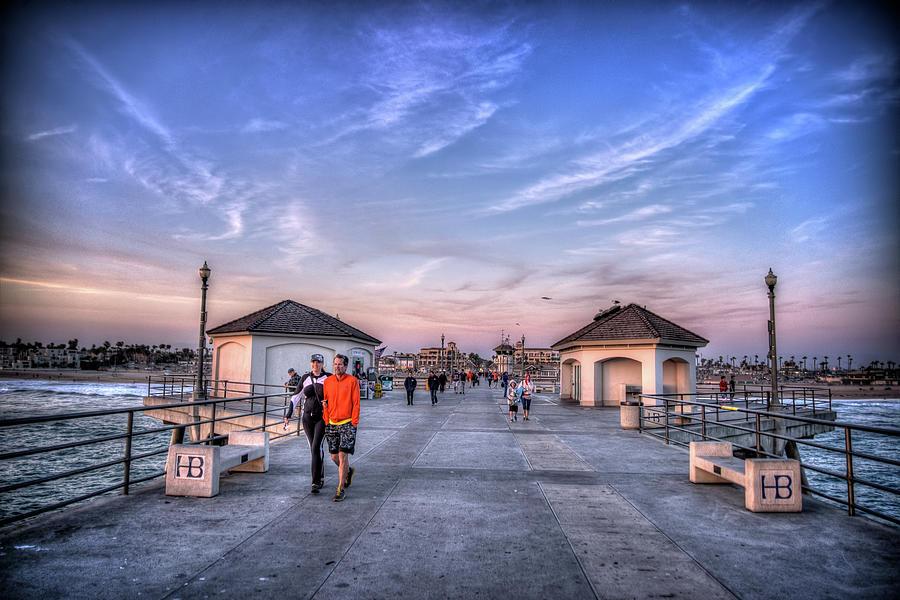 Pier Photograph - Surf City Pier by Spencer McDonald