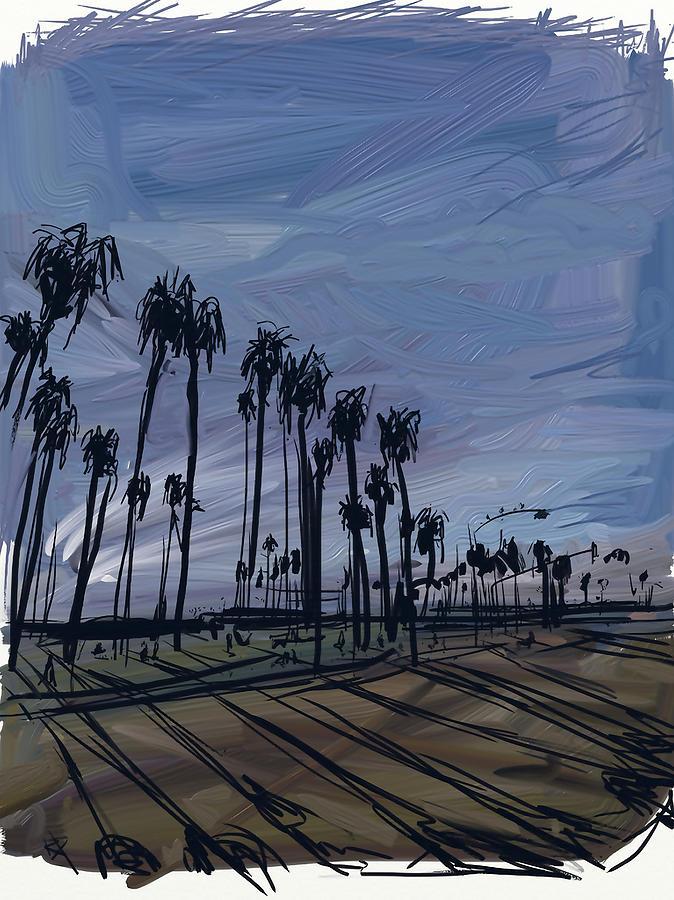 Surf City Digital Art - Surf City by Russell Pierce
