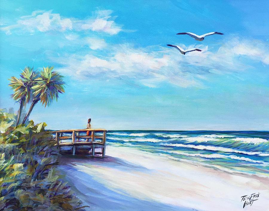 Surf Watch  by Gretchen Ten Eyck Hunt