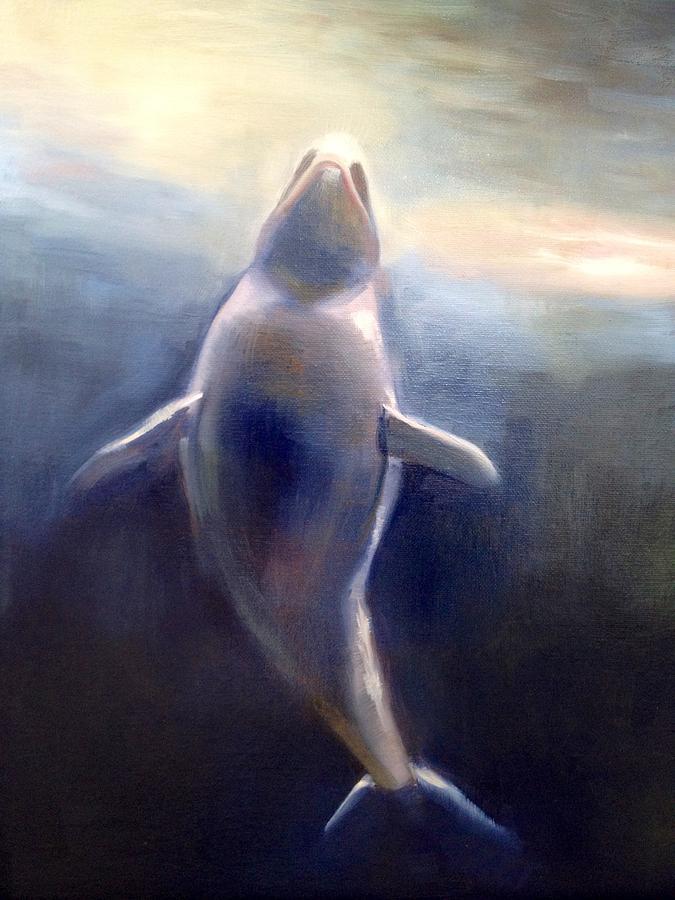 Surfacing Painting by Cynthia Mozingo