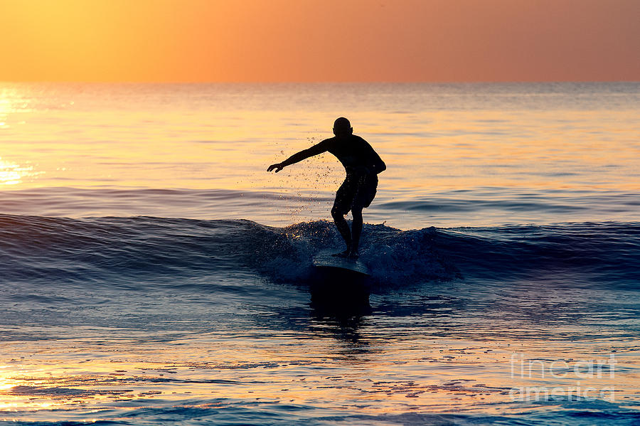 Surfer at Dusk by Minolta D