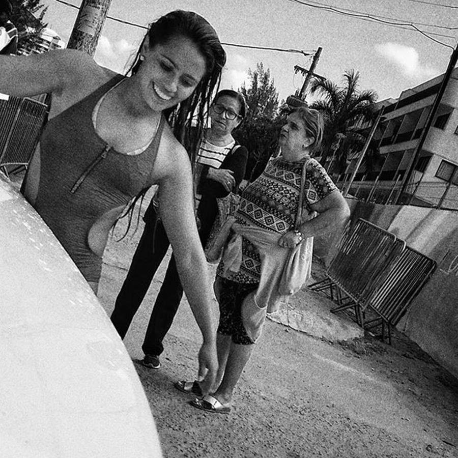 Woman Photograph - Surfer Girl  #surf #girl #woman by Rafa Rivas