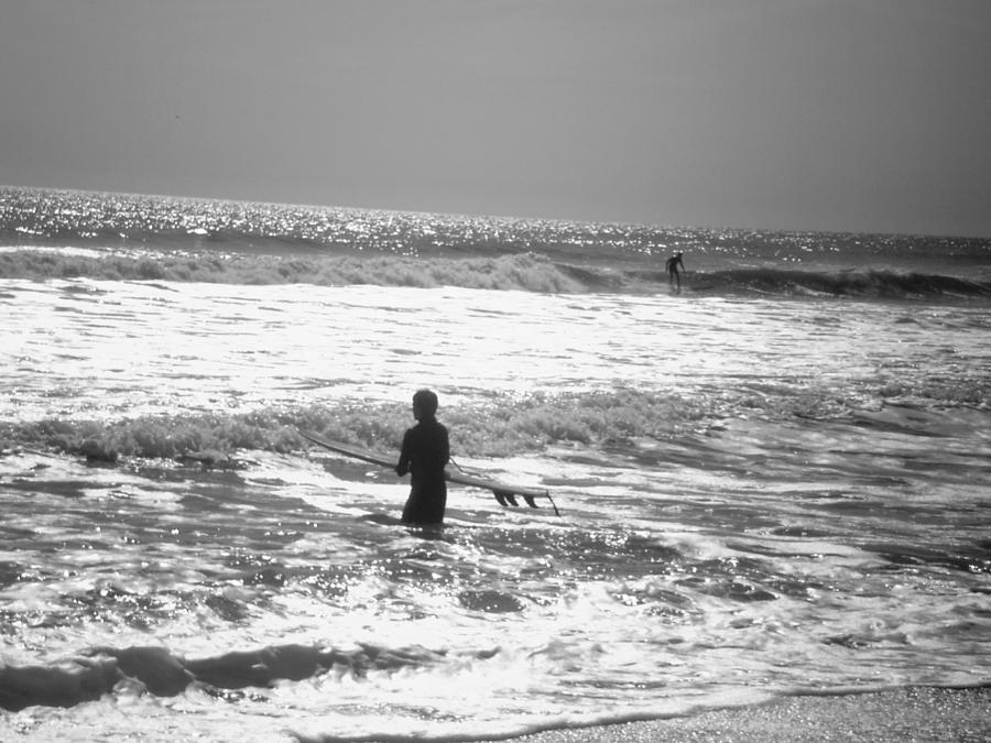 Surf Photograph - Surfers by Utopia Concepts