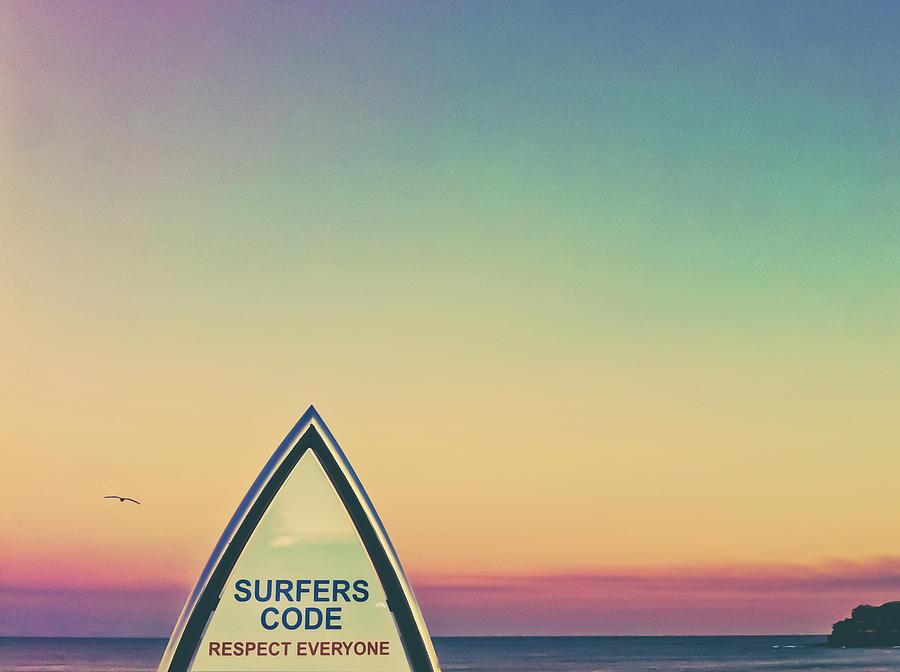 Surfers Code Photograph