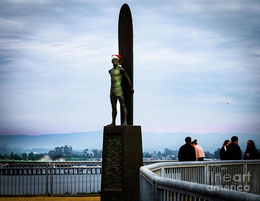 Surfer's Santa by Rochelle Sjolseth