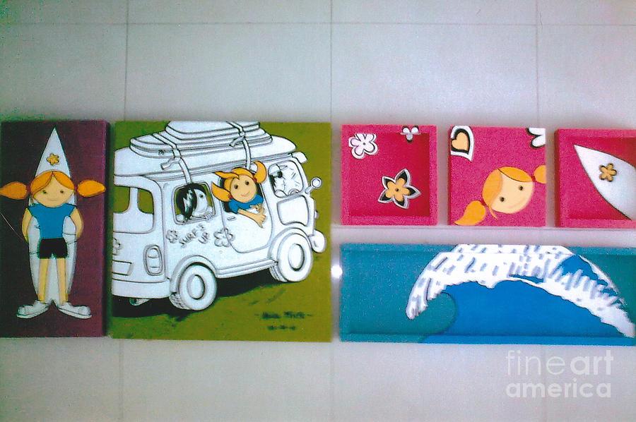 Fun Painting - Surfing Trip by Akidatulroza Mohd Fadzil Khairuddin