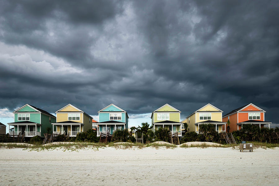 Surfside Beach Houses by Ivo Kerssemakers