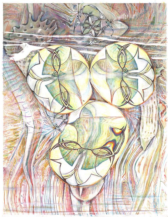 Surge Drawing by Jeremy Robinson