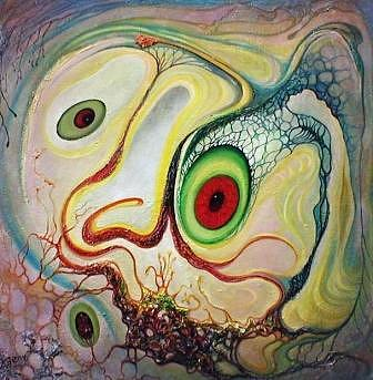 Original Painting - Surprise by Evgeny Makovkin