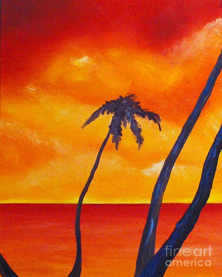 Sunrise Painting - Surprise Sunrise by Joseph Palotas