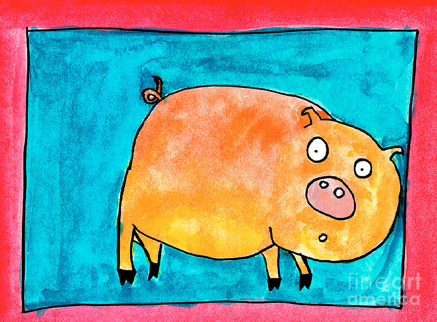 Surprised Pig by Nick Abrams Age Thirteen