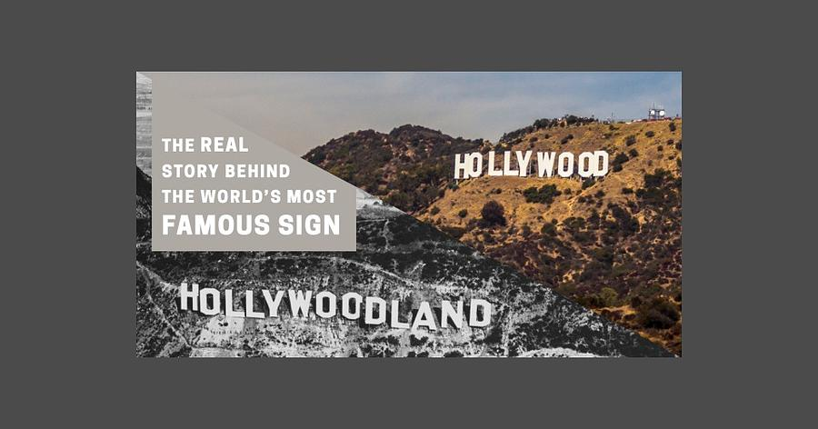 Hollywood Sign Mixed Media - Surprising Facts Of Hollywood Sign by Velvet Ropes
