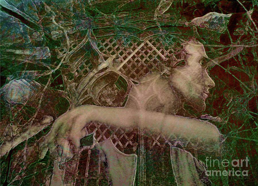surreal art - Hermes II by Sharon Hudson
