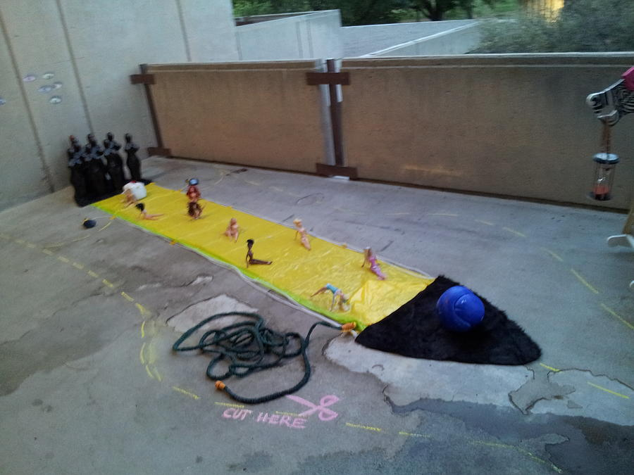Surreal Bowl Installation by Kristen R Kennedy