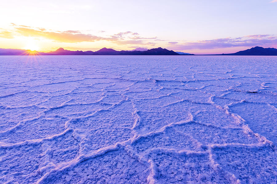 Salt Flats Photograph - Surreal Salt by Chad Dutson
