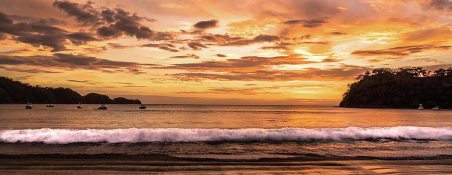 Scene Photograph - Surreal Sunset  by Michael Santos