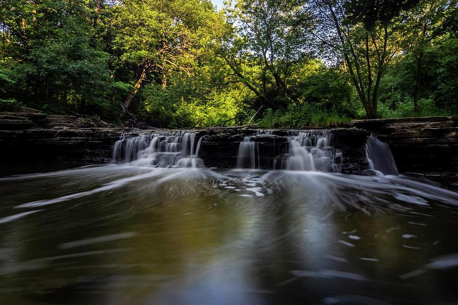 surreal waterfall by Sven Brogren