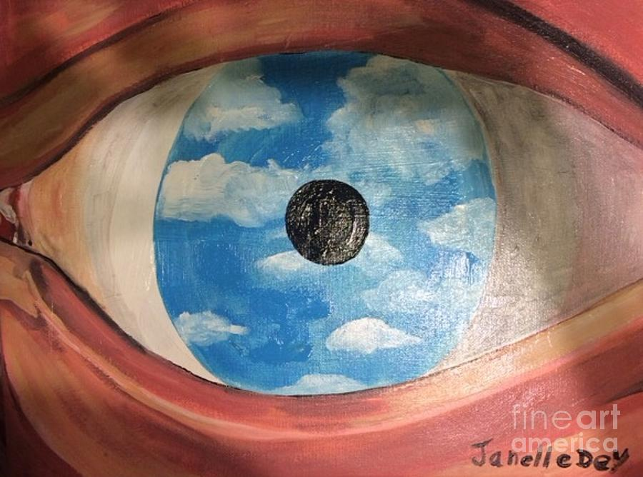 Surrealism Painting by Janelle Dey