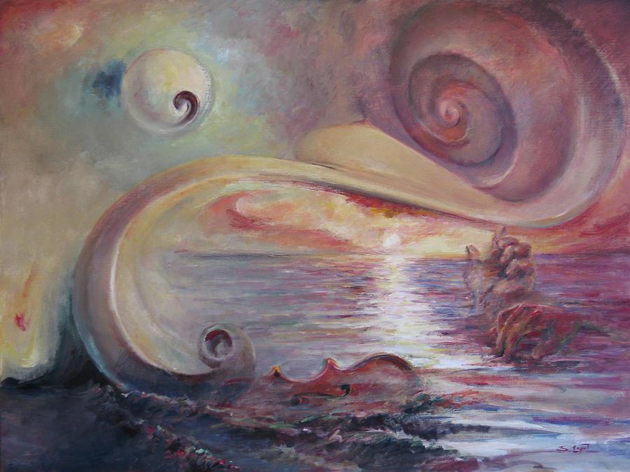 Surrealistic Painting - Surrealistic Improvisation by Tigran Ghulyan
